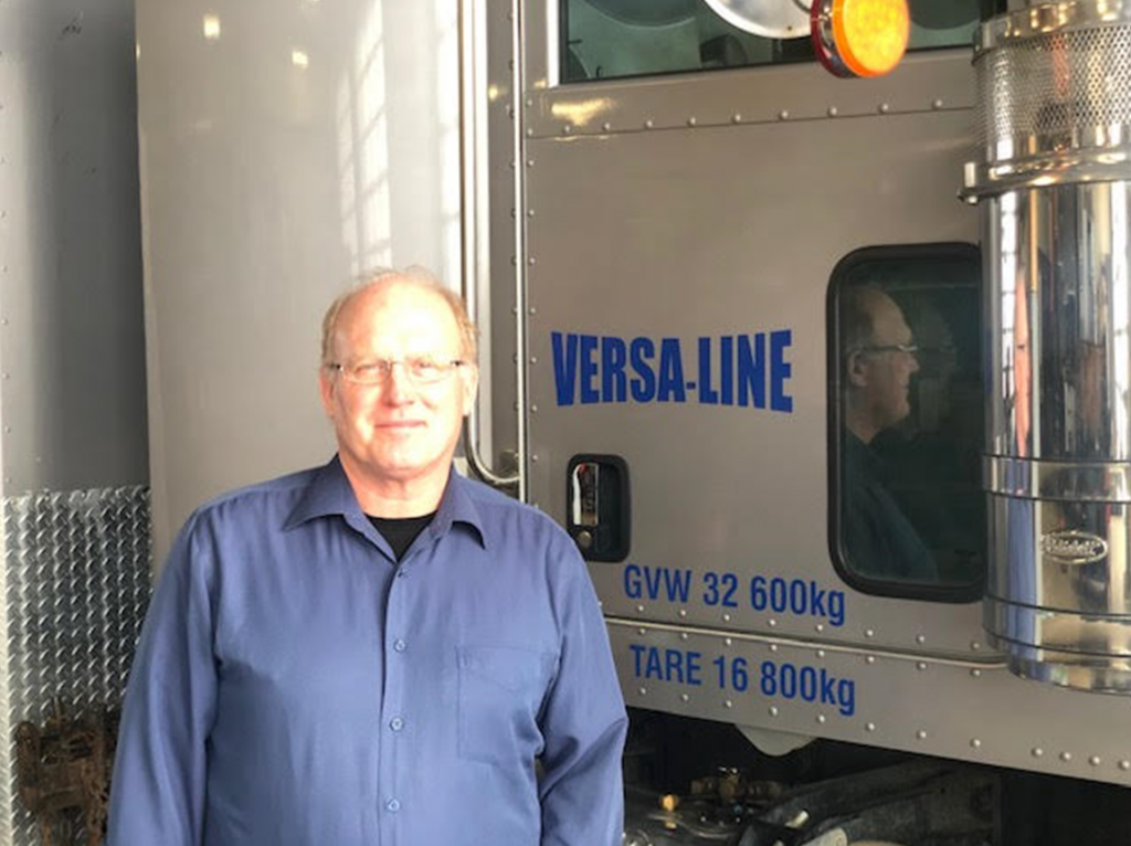 Welcome Les Morris to Versa-Line